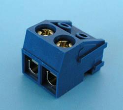 ETB1602 Клеммник 2 контакта, провод-плата, 300В 10А шаг 5,0мм