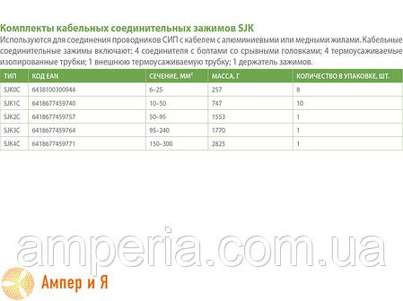 Муфта соединительная термоусаживаемая SJK0C Al/Cu 6-35 мм² ENSTO, фото 2