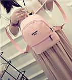 Рюкзак маленький школьный городской Модный Высота 25 см., фото 10
