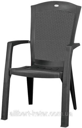 Крісло-стілець MINNESOTA графіт (Allibert)