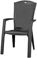 Крісло-стілець MINNESOTA графіт (Allibert), фото 1