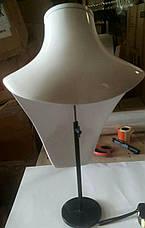 Керамические бюсты подставки для ювелирных изделий и бижутерии, манекены под колье, фото 3