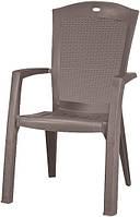 Крісло-стілець MINNESOTA капучіно (Allibert), фото 1