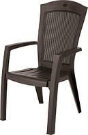 Крісло-стілець MINNESOTA темно-коричневий (Allibert), фото 1