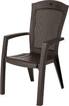 Крісло-стілець MINNESOTA темно-коричневий (Allibert)