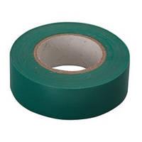 Изолента ПВХ  19 мм х 20 м  зеленая Сибртех 88797