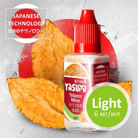 Жидкость Yasumi для электронных сигарет. Табак Нихон | Tobacco Nihon 30мл
