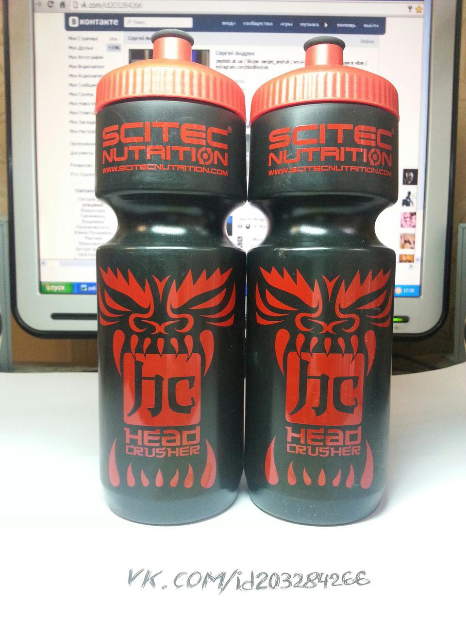 Бутылка Scitec Nutrition Waterbottle Head Crusher 750 ml