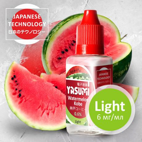 Жидкость Yasumi для электронных сигарет. Арбуз Кобе | Watermelon Kobe 30мл