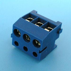 ETB0203 Клеммник 3 контакта, провод-плата, 300В 10А шаг 3,5мм