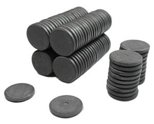 Ферритовые магниты - круглые, купить