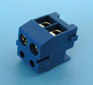 ETB0202 Клеммник 2 контакта, провод-плата, 300В 10А шаг 3,5мм