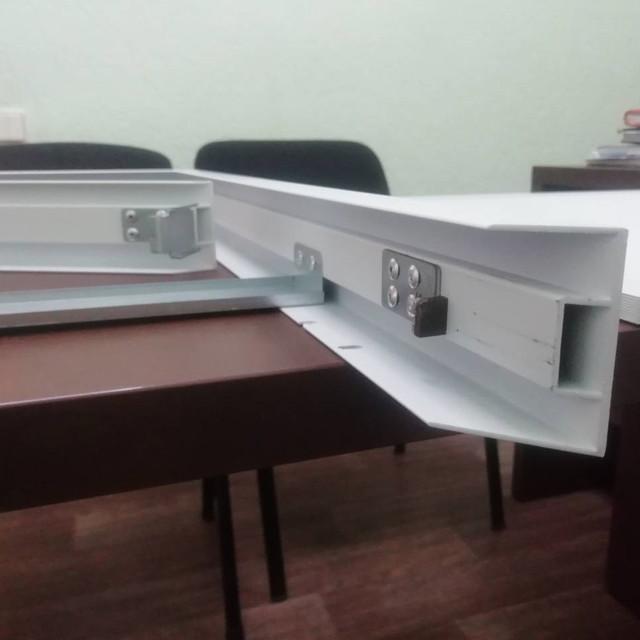 Толщина материала панели для накладного монтажа Кларус 1-1,2 мм