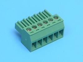 ETB85060G000 Клеммник разрывной 6 контактов 6A шаг 3,5 мм