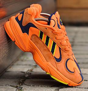 Мужские кроссовки в стиле Adidas Yung 1 Orange Navy