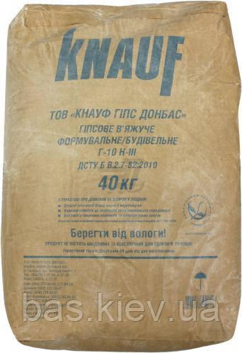 KNAUF Гіпсове в*яжуче Г-10 , мішок 40 кг.  (30 шт/п)