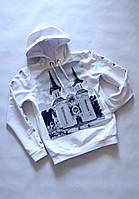 Дитячий худі  Толстовка унісекс з бавовняної двонитки