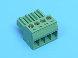 ETB85040G000 Клеммник разрывной 4 контактов 6A шаг 3,5 мм