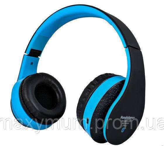 Беспроводные наушники S5068 - черно-синие