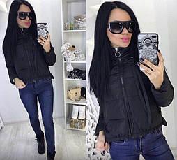 Женская короткая куртка Китай, фото 2