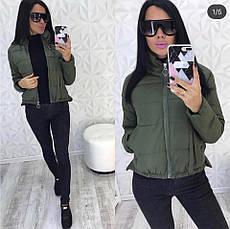 Женская короткая куртка Китай, фото 3