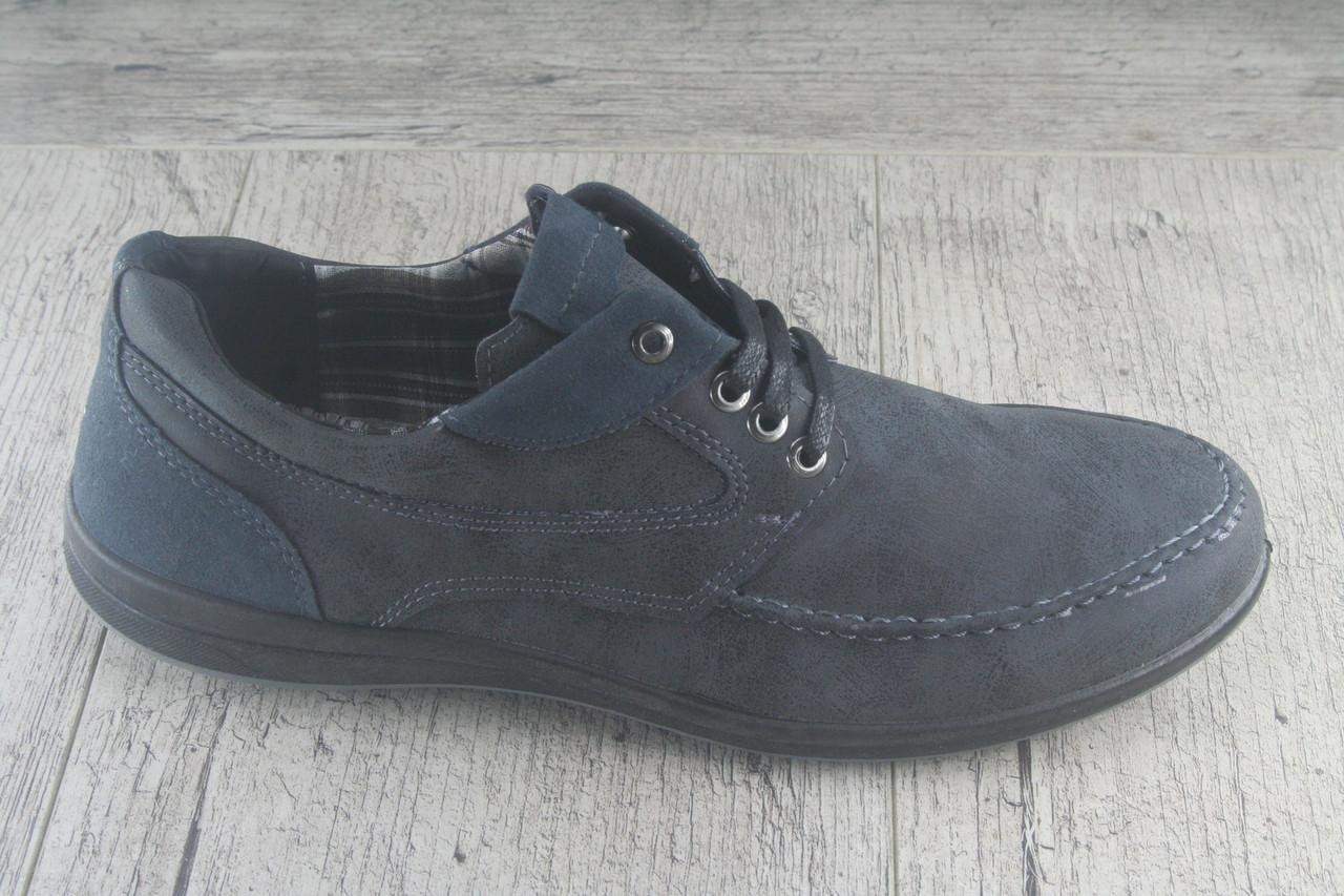 Туфли, мокасины на шнурках Dago, обувь мужская осенняя, повседневная, Украина