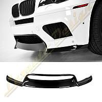 Накладка переднего бампера стиль Vorsteiner для BMW X6 e71M, фото 1