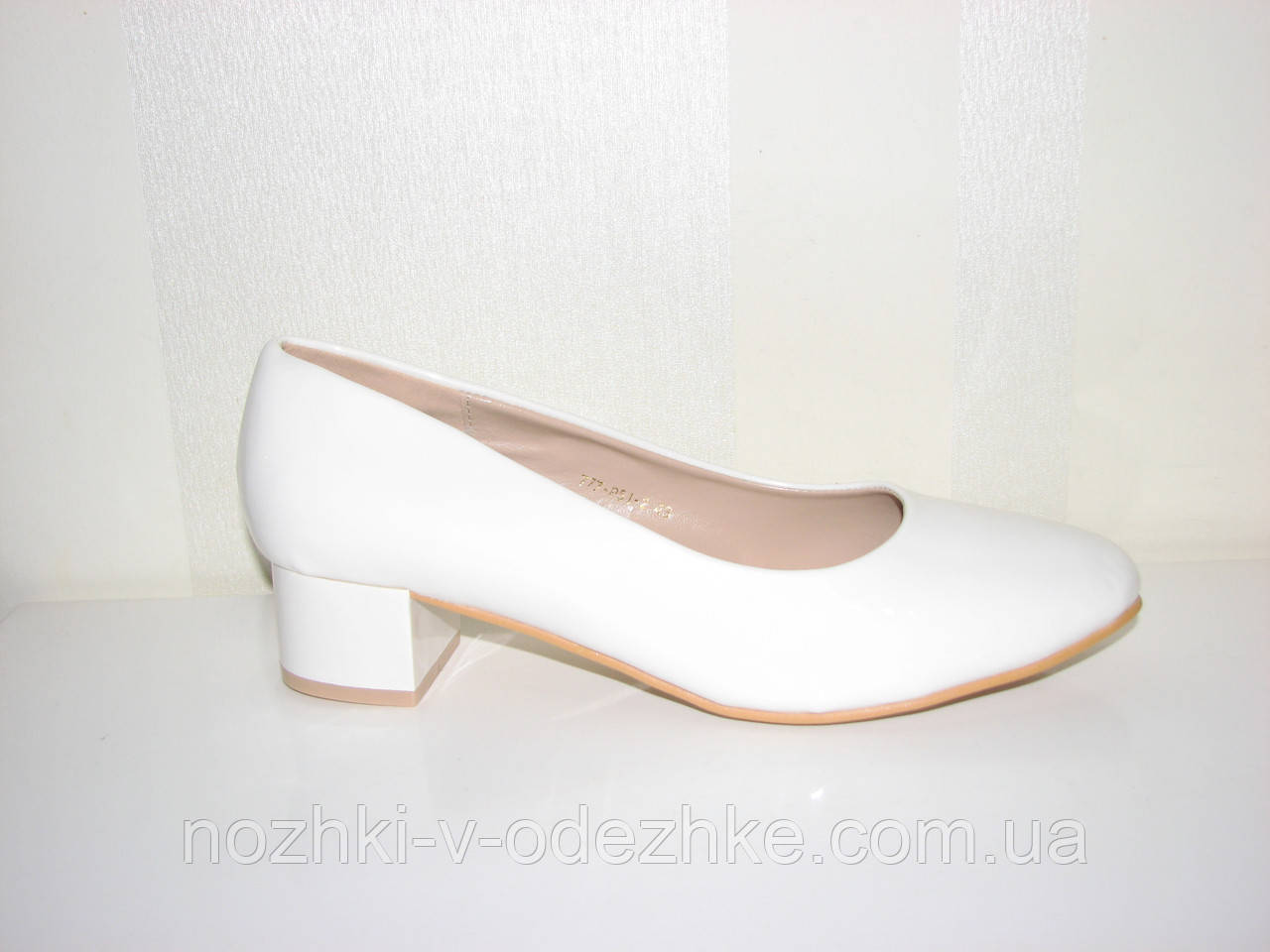 d2a39b569 Классические женские туфли на маленьком каблуке большого размера 43 -  Интернет магазин