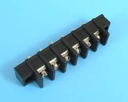 ETB5302106 Клеммник 6 контактов на плату с креплением, 300В 20А шаг 10,0мм