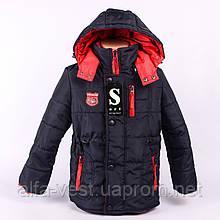Копия Куртка на мальчика ОСЕНЬ-ВЕСНА Z1007. Размер 32