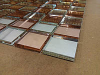 Зеркальная мозаика от производителя Розовый+Серебро