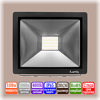 LED прожектор 100вт iLUMIA, 4000k