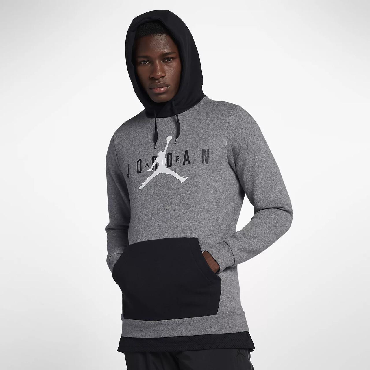 Толстовка Nike Jordan Jumpman Air Fleece Pullover Hoodie AA1451-091  (Оригинал) — в Категории