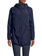 Женская темно-синяя водоотталкивающая ветровка  с рюкзаком Calvin Klein, фото 1