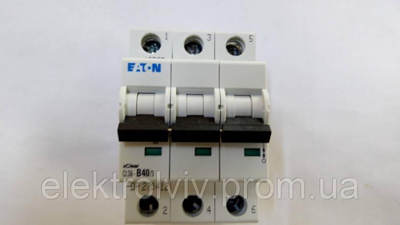 Автоматический выключатель Eaton CLS6-B40/3-DP
