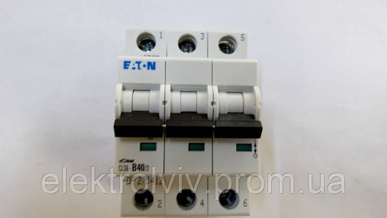 Автоматический выключатель Eaton CLS6-B40/3-DP, фото 2