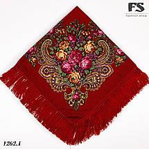 Павлопосадский платок Медовый полдень, фото 3