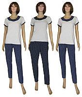 Обновление серии женских домашних костюмов Vikki Grey&Dark Blue ТМ УКРТРИКОТАЖ!