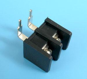 ETB5108202 Клеммник 2 контакта на плату, прямой угол, 300В 15A шаг 8,25мм