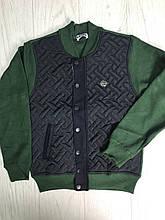 Кофта-куртка на замке для мальчиков 152,176см