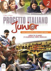 Progetto Italiano Junior 2  Ч\Б  Копия