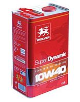 Масло моторное WOLVER Super Dynamic 10W-40, API SL/CF канистра 4л