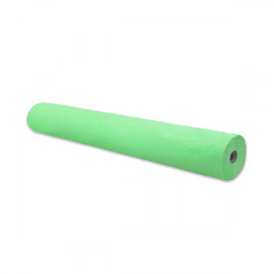 Простынь одноразовая мята 20г/м2 ширина 600мм (100м)