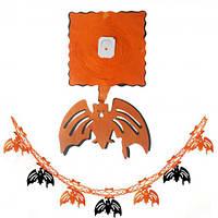 Гирлянда 3D Хэллоуин с подвеской Летучая мышь  FL172