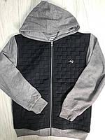 Кофта-куртка на замке для мальчиков 140-176см
