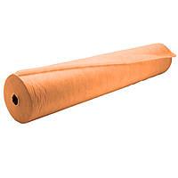 Одноразовые простыни оранжевые 23 гр/м2  0,8 х 100 м.