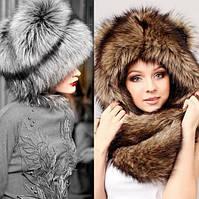 Где купить женскую шапку из натурального меха дешево