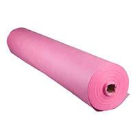 Одноразовая простынь розовая 23 гр/м2  0,8 х 100 м.