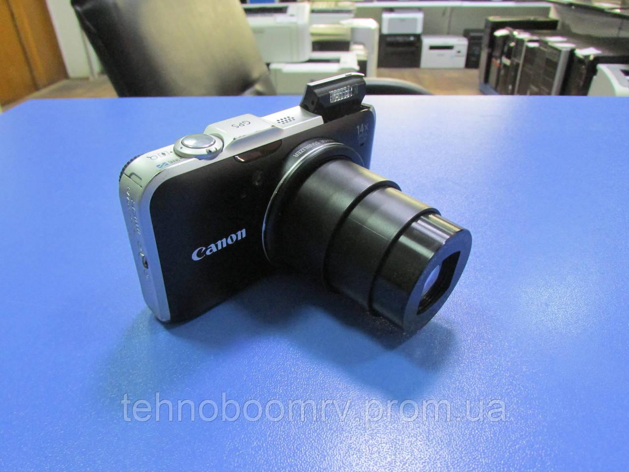 Фотоаппарат Canon SX230 IS - 12MP - ЗУМ: Оптич. 14Х; Цифр.4Х + подарок
