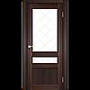Двери Корфад Classico CL-05  орех, дуб грей, беленый дуб